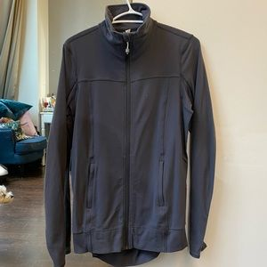 Lululemon zip up with mesh back
